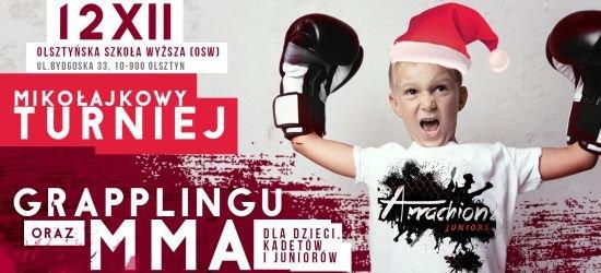Mikołajkowy Turniej Grapplingu oraz MMA dla dzieci, kadetów i juniorów