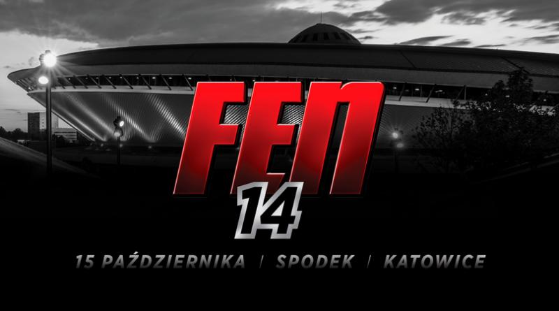 Pierwsze nazwiska gali FEN 14 w katowickim Spodku!