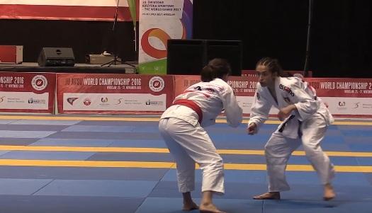 MŚ Ju-Jitsu 2016 Wrocław: Martyna Bierońska vs Jessica Scricciolo ( VIDEO )