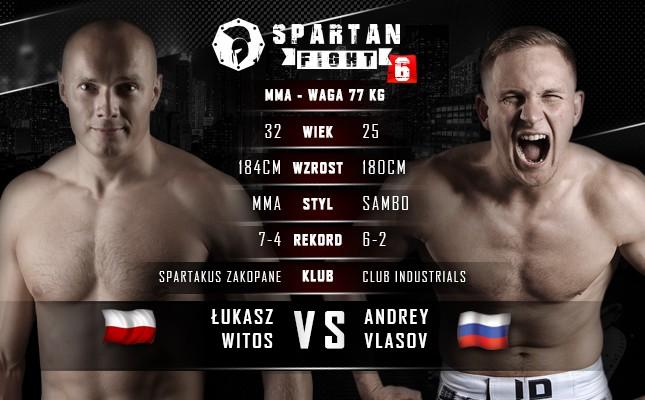 Spartan Fight 6: Reprezentant Spartakusa Zakopane zmierzy się z rosyjskim sambistą