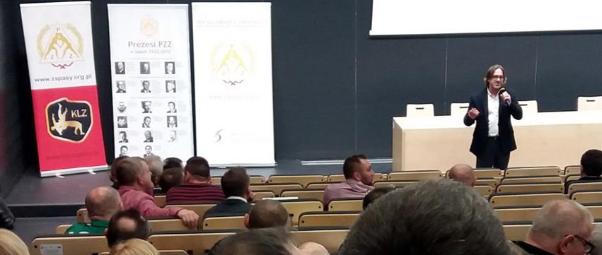 Konferencja szkoleniowa Polskiego Związku Zapaśniczego