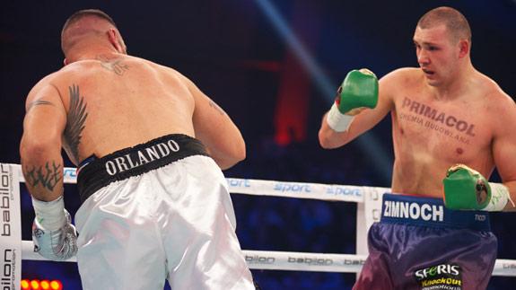 Ingo Barrabas ringowym w rewanżu Zimnoch – Mollo