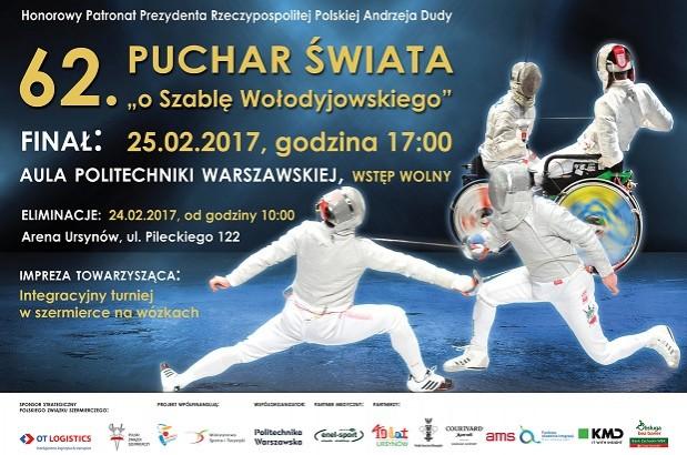 """Szermierka: 62. edycja PUCHARU ŚWIATA """"O Szablę Wołodyjowskiego"""""""