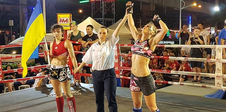 Katarzyna Posiadała Mistrzynią Świata Muay Thai organizacji WMF