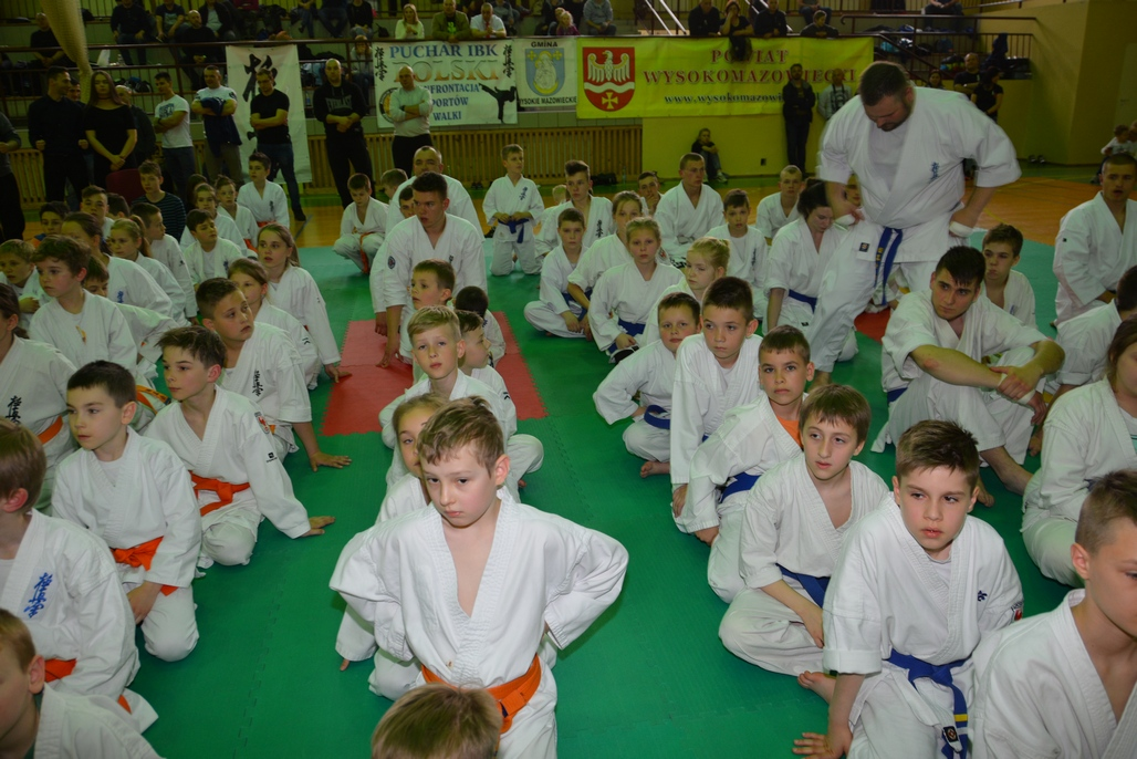 Puchar Polski Juniorów Seniorów International Budo Kai Kyokushin Karate 2017