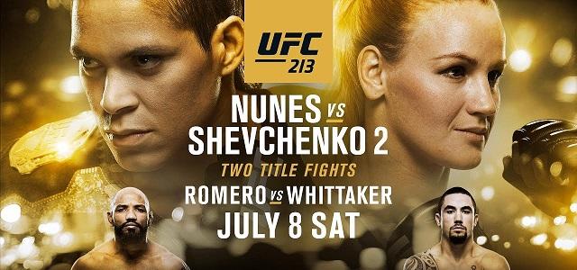 UFC 213: AMANDA NUNES W SZPITALU