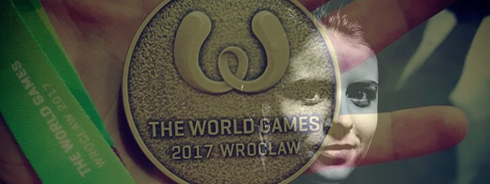 Małgorzata Dymus z brązem na The World Games 2017