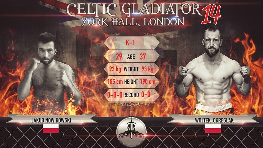 Celtic Gladiator 14: Jakub Nowikowski Vs. Wojtek Okręglak