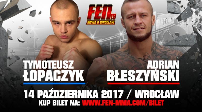 Łopaczyk kontra Błeszyński powalczą o podbój Wrocławia!