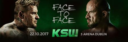 """Popek Monster vs Tomasz """"Strachu"""" Oświeciński oficjalnie, pierwsze spotkanie twarzą w twarz już na KSW 40 w Dublinie"""