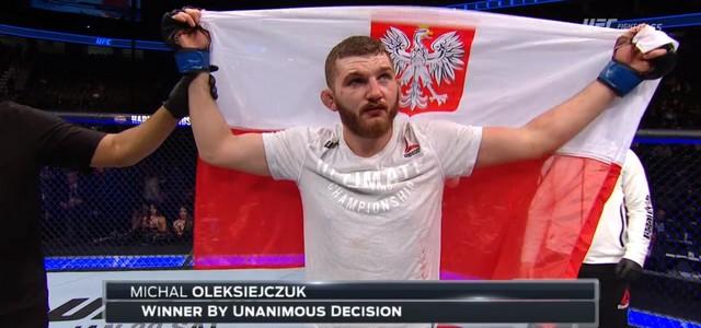 UFC 219: ŚWIETNY DEBIUT MICHAŁA OLEKSIEJCZUKA!