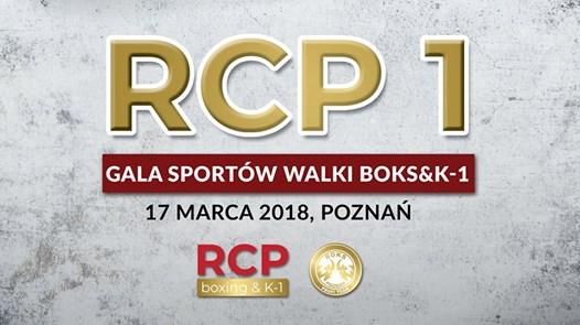 RCP 1 Gala Sportów Walki Boks&K-1