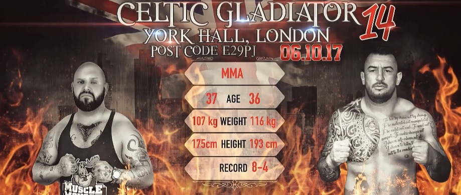 Celtic Gladiator 15: John Chupper vs Marian Rusu